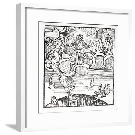 Small Drawing of a Happy Soul--Framed Art Print