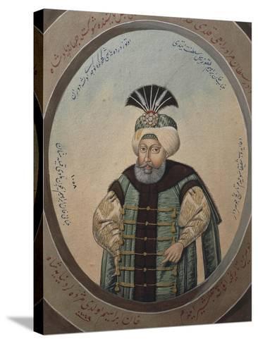 Portrait of Mehmet IV--Stretched Canvas Print