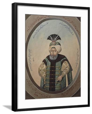 Portrait of Mehmet IV--Framed Art Print
