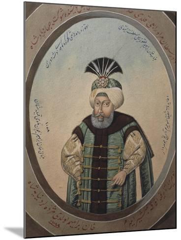 Portrait of Mehmet IV--Mounted Giclee Print