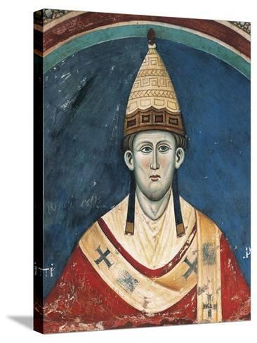 Portrait of Pope Innocent Iii--Stretched Canvas Print