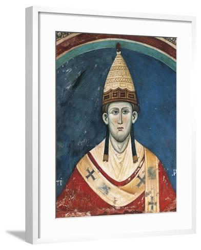 Portrait of Pope Innocent Iii--Framed Art Print