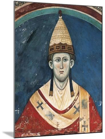 Portrait of Pope Innocent Iii--Mounted Giclee Print