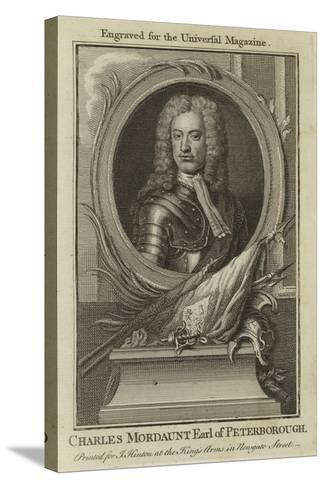 Charles Mordaunt, Earl of Peterborough--Stretched Canvas Print