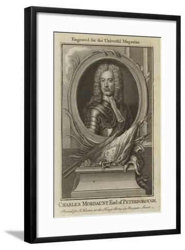 Charles Mordaunt, Earl of Peterborough--Framed Art Print