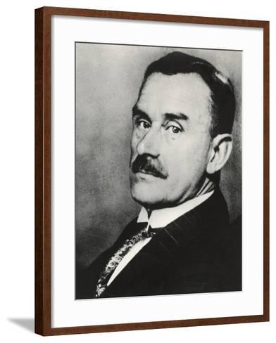 Thomas Mann--Framed Art Print