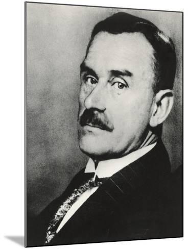 Thomas Mann--Mounted Photographic Print