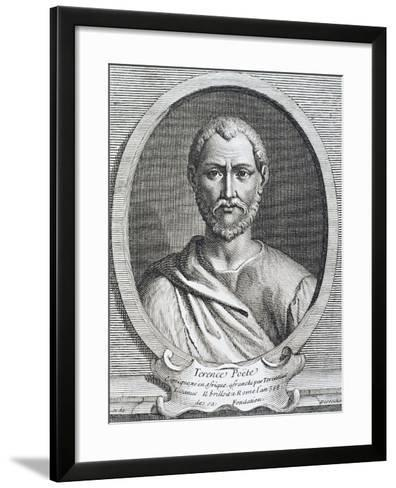 Portrait of Publius Terentius Afer--Framed Art Print