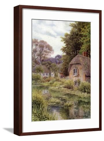 On the Avon, at Lake, Near Salisbury-Alfred Robert Quinton-Framed Art Print