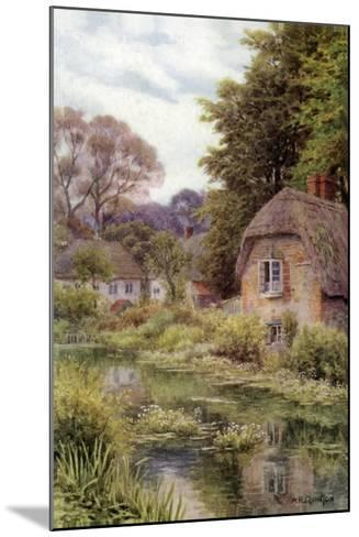 On the Avon, at Lake, Near Salisbury-Alfred Robert Quinton-Mounted Giclee Print