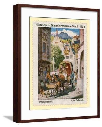 Honeymoon--Framed Art Print