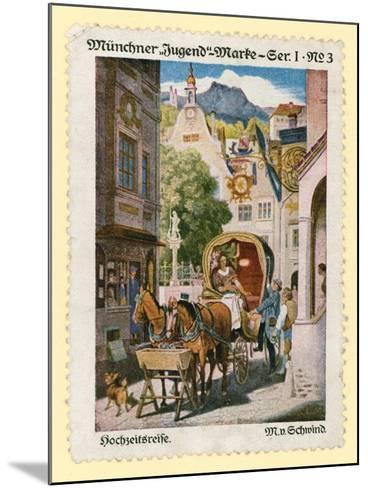 Honeymoon--Mounted Giclee Print