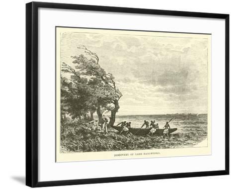 Discovery of Lake Bangweolo--Framed Art Print