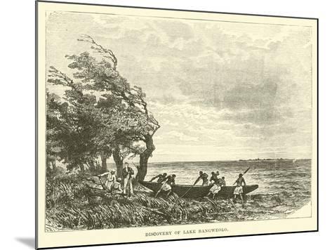 Discovery of Lake Bangweolo--Mounted Giclee Print