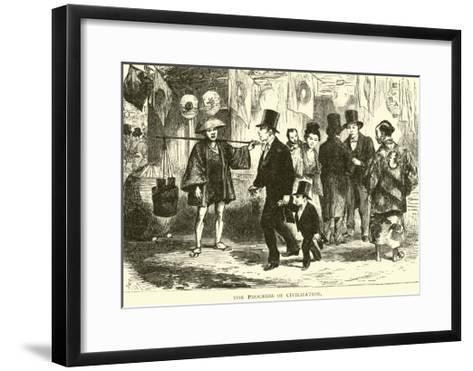 The Progress of Civilization--Framed Art Print
