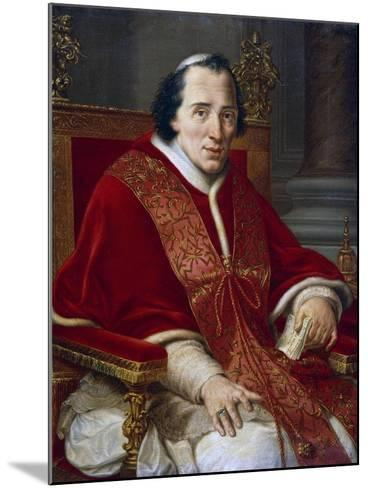 Portrait of Pope Pius VII--Mounted Giclee Print