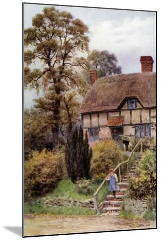 Cottage Steps, Ardington, Berkshire-Alfred Robert Quinton-Mounted Giclee Print
