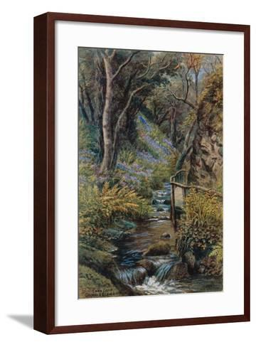 Lhen Coan, Groudle Glen, I of Man-Alfred Robert Quinton-Framed Art Print