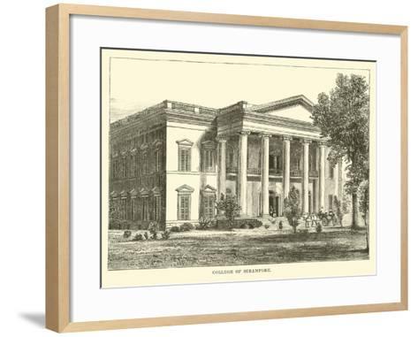 College of Serampore--Framed Art Print