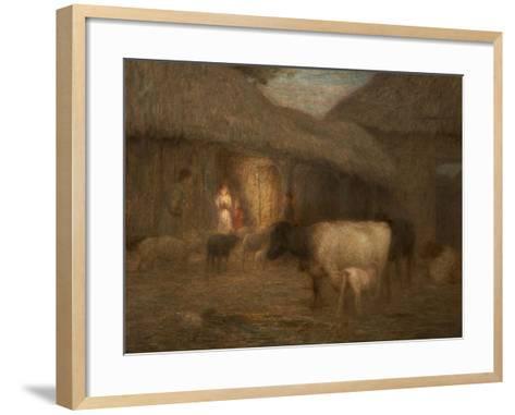 Approaching Night, C.1917-Edward Stott-Framed Art Print