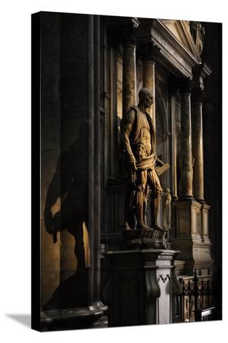 St Bartholomew Flayed--Stretched Canvas Print