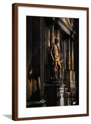 St Bartholomew Flayed--Framed Art Print