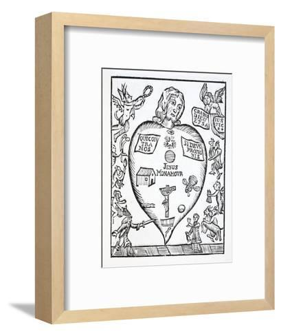 The State of Man Who Has Been Converted to God--Framed Art Print