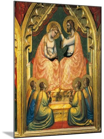 Coronation of the Virgin-Giotto di Bondone-Mounted Giclee Print