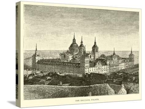 The Escurial Palace--Stretched Canvas Print