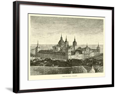 The Escurial Palace--Framed Art Print