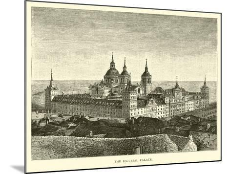 The Escurial Palace--Mounted Giclee Print
