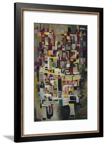 Mountain Town, C.1955-60-Anneliese Everts-Framed Art Print