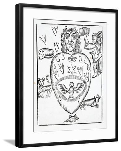 The State of Man Regretting Having Offended God--Framed Art Print