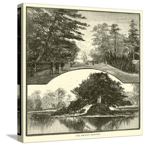 The Mikado's Grounds--Stretched Canvas Print