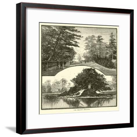 The Mikado's Grounds--Framed Art Print
