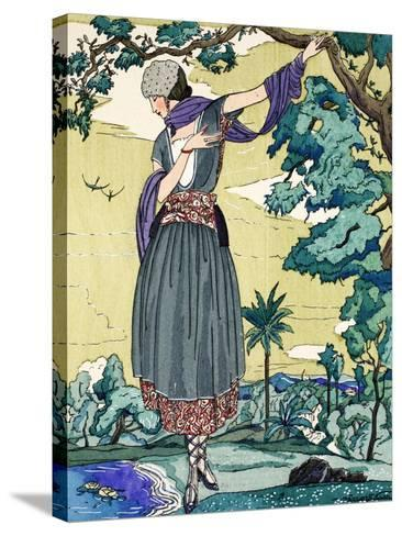 Peasant Dress, 1919-21--Stretched Canvas Print
