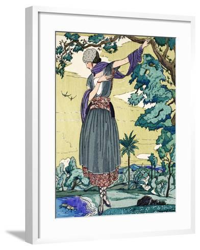 Peasant Dress, 1919-21--Framed Art Print