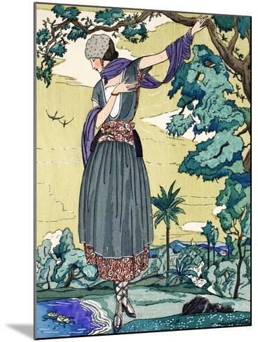 Peasant Dress, 1919-21--Mounted Giclee Print