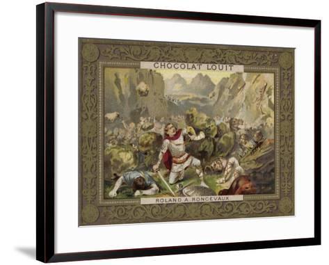 Roland at Roncevaux--Framed Art Print