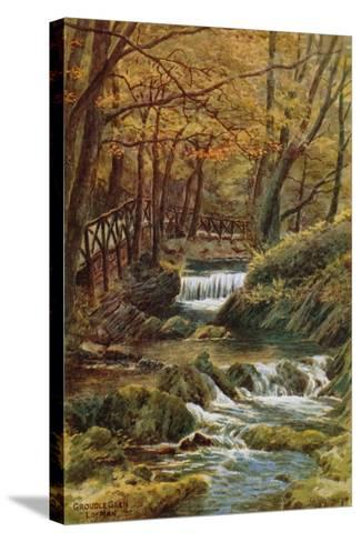 Groudle Glen, I of Man-Alfred Robert Quinton-Stretched Canvas Print