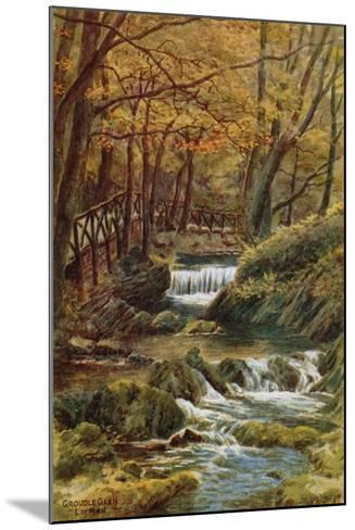 Groudle Glen, I of Man-Alfred Robert Quinton-Mounted Giclee Print