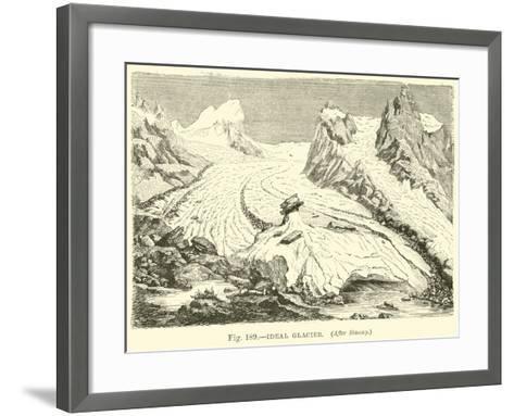 Ideal Glacier--Framed Art Print
