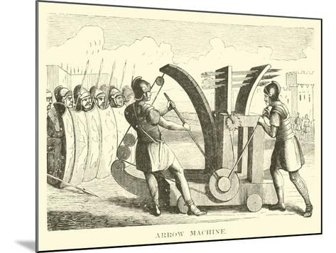 Arrow Machine--Mounted Giclee Print