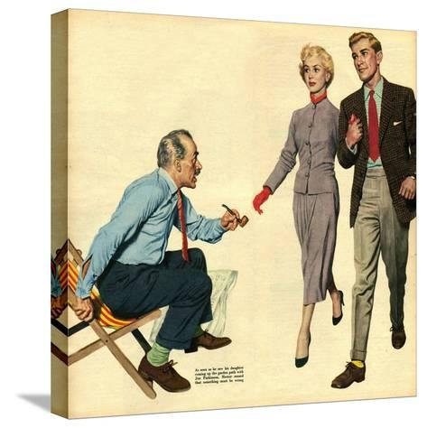 Illustration from 'John Bull', 1957--Stretched Canvas Print