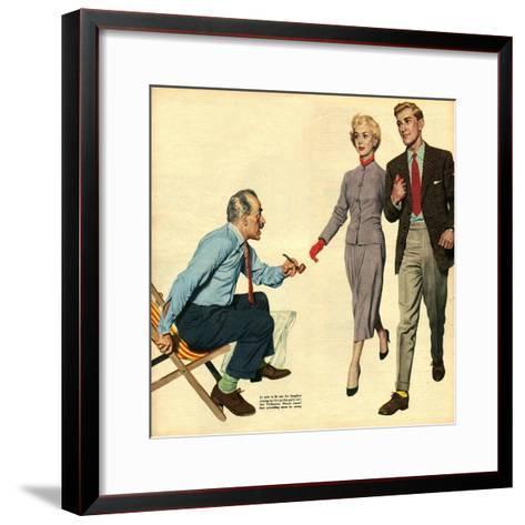 Illustration from 'John Bull', 1957--Framed Art Print