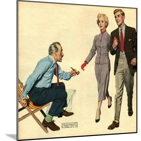 Illustration from 'John Bull', 1957--Mounted Giclee Print