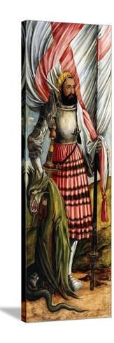 Saint George, 1517--Stretched Canvas Print