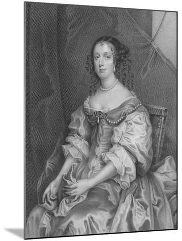 Catherine of Braganza-Sir Peter Lely-Mounted Giclee Print