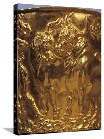 Gold Cup from Tholos Tomb of Vaphia from Sparta--Stretched Canvas Print