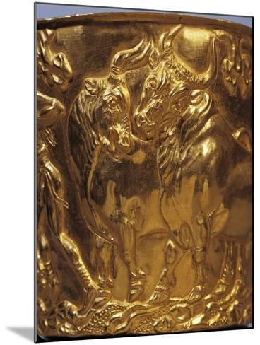 Gold Cup from Tholos Tomb of Vaphia from Sparta--Mounted Giclee Print
